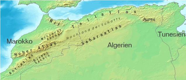 Atlasgebirge_topografisch_politsch_mittel_mit_Hochland