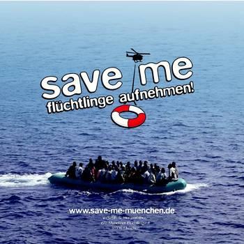 aufkleber-fluechtlinge-im-boot-fluechtlinge-aufnehmen
